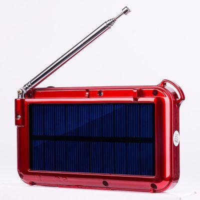 快乐相伴L-388太阳能收音机 老年人收音机 迷你MP3播放器 唱戏机 歌词显示