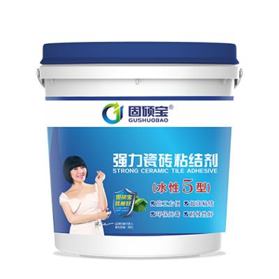 固硕宝水性五型强力瓷砖粘结剂5kg/1kg