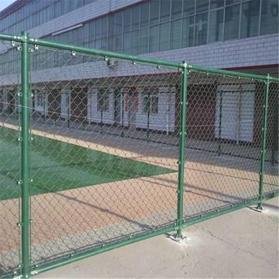勾花护栏网 体育场围网 篮球场防护墙