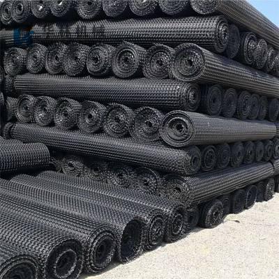 低价供应矿用阻燃塑料网片 矿用钢塑复合网片假顶网 阻燃塑料网片