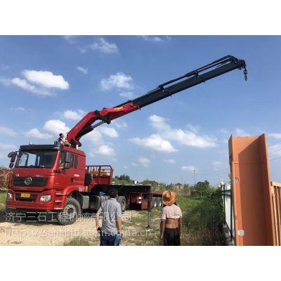 40吨折臂吊工作幅度16米 适合狭窄工作环境的折臂吊机