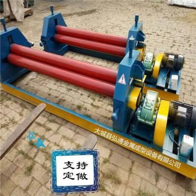 手动小型压边机咬口机电动铁皮铝皮卷板机压卷圆机卷筒机承揽保温工程
