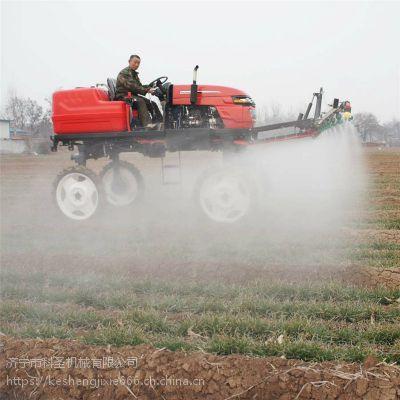 水稻打药机 加宽喷幅打药机 四轮施肥打药车 科圣机械