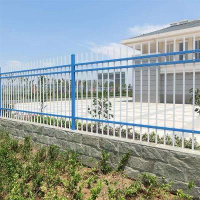 栏杆式围墙 小区墙体栅栏 锌钢围墙栅栏