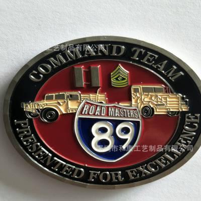 企业周年庆纪念徽章制作 双面浮雕纪念币定制 999纯银纪念币制作厂家