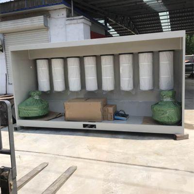 静电喷涂粉末回收机 喷粉房粉末回收柜厂家直销 鸿鑫牌
