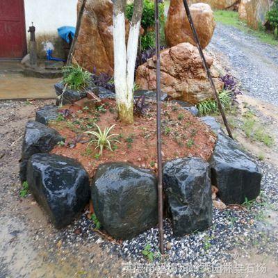 产地供应广东青蜡石 用于日式园林造景花园庭院假山鱼池堆砌