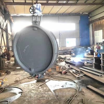 原烟气不锈钢入口挡板门 脱硫系统引入烟气百叶窗风门
