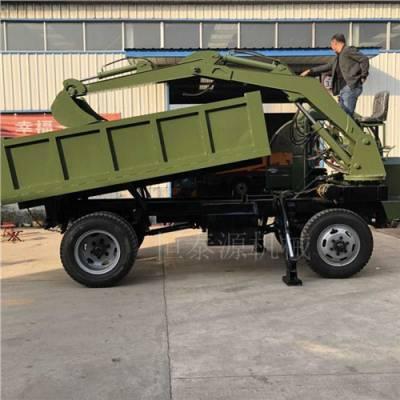 重庆大型装载运输车12吨随车挖参数表 铸造辉煌 济宁市恒泰源工程机械供应