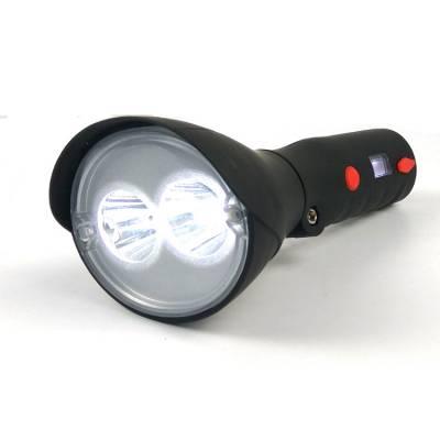 GAD208多功能巡检工作灯 手持强光探照灯2*3W led手电筒