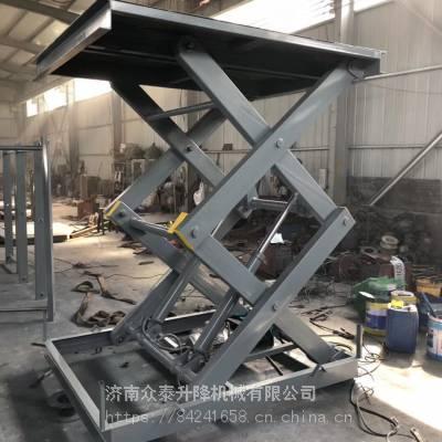 青岛固定式升降机厂家 380V电动液压升降货梯 升降平稳载重量大