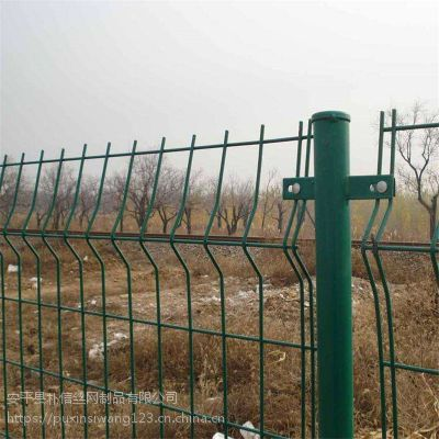 现货加工双边丝护栏 公路防护网 双边框架网