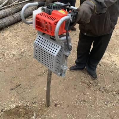 汽油链条式断根机 锯齿式起大树机 新款挖树机价格