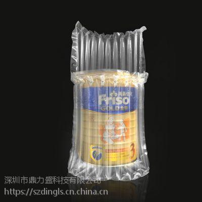 鼎力盛厂家定制家居用品气泡柱|红酒奶粉水果缓冲包装气柱袋