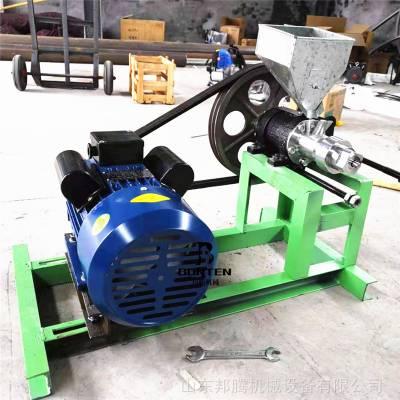 无噪音4缸膨化机 多花型箱式空心棒膨化机 单相电食品膨化机