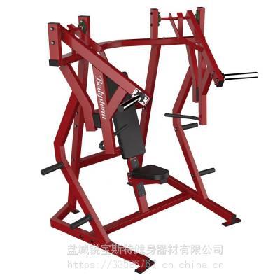 推胸悍马挂片力量商用健身器械