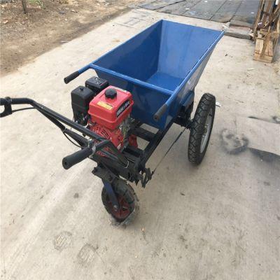 汽油农用搬运独轮车多功能碟刹机动独轮小车 搬运手推车鸡公车