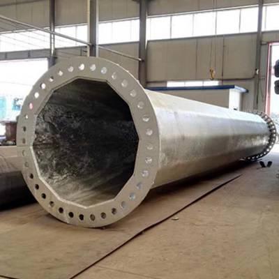 直线66kv高压钢管塔生产厂家 霸州市顺通电力设备厂