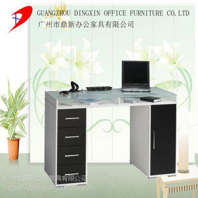现代简约时尚玻璃台式电脑桌 家用经济型办公桌 可定制厂家直销
