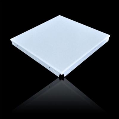帝欣厂家热销吸音铝扣板对角穿孔铝扣板免费打样600*600白色铝扣板