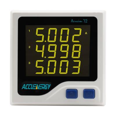 供应Accuenergy爱博精电Acuvim 72紧凑型三相电力仪表