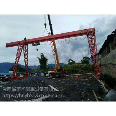 亳州谯城区2.8吨12米龙门吊宇起牌航吊2019年报价