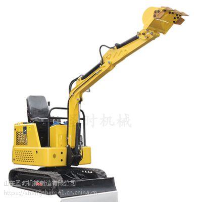 15型小挖机钩机价格 果园室内工程小挖掘机 圣时农用挖掘机源头工厂