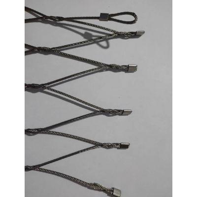 不锈钢绳网 不锈钢丝安全绳网 不锈钢安全绳网