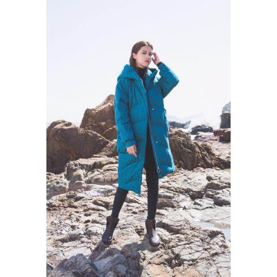 棉麻大码妈妈装设计师羽绒服返季特卖 广州品牌折扣女装批发市场 折扣女装库存尾货
