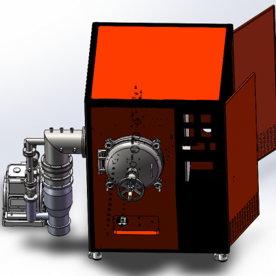 酷斯特科技石墨真空烧结炉真空碳管炉