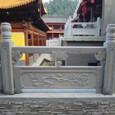 花岗岩栏杆厂家-花岗岩桥梁栏杆多少钱一米-曲阳县聚隆园林雕塑