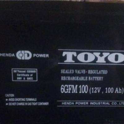 东阳蓄电池6GFM200恒达东洋蓄电池12V200AH