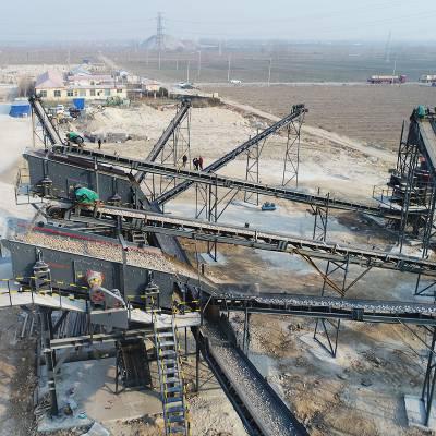 新型制砂机制砂生产线 制砂厂视频现场介绍