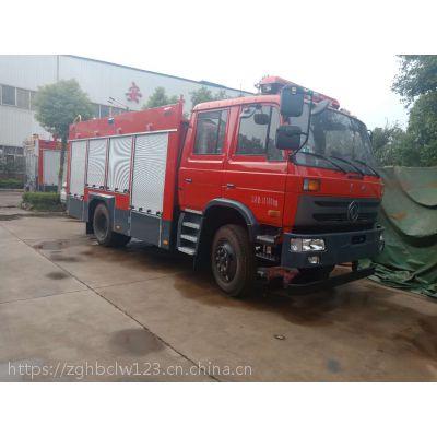 东风6吨水罐消防车救火车厂家直销