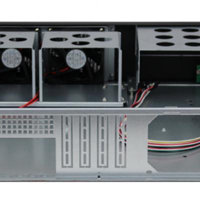 服务器机箱监控安防网吧机器工控黑色上机架式