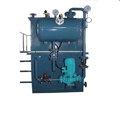 气浮沉淀一体装置溶气泵气浮装置一体化不锈钢气浮机