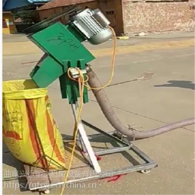 农用车载式抽料机 电动软管沙子提升机