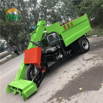 奶牛饲养清粪车 帮助养殖户的粪便运输车 自动卸粪车