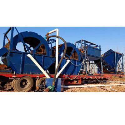 制砂洗砂机 凯翔 洗砂机生产厂家 车载洗砂机图片