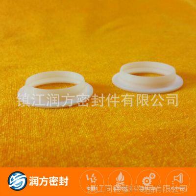 专业定制日本大金料 聚四氟乙烯防尘圈 PTFE精细要求高挡圈密封件