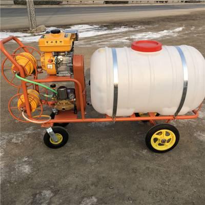 家用果园杀虫喷药打药机 座驾行走式高压喷雾器