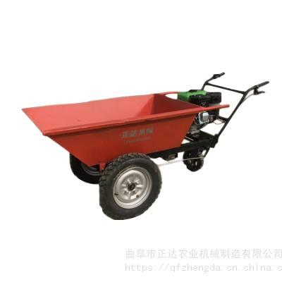 手推汽油运输车 多功能汽油运输车 自走式手推车
