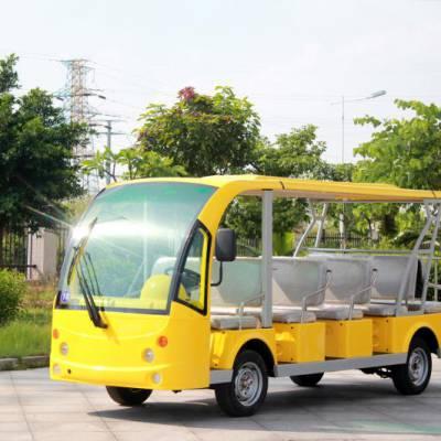 广州电动观光车看楼车接待车