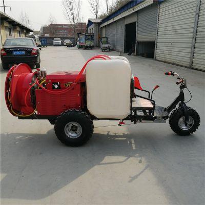 新疆农用自走式打药机-苏州三轮打药车厂家-农用喷洒风送式打药机