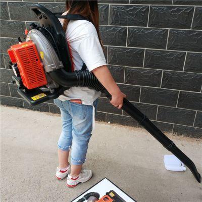 蔬菜大棚吹雪机 大马力高压吹风机 汽油吹尘机