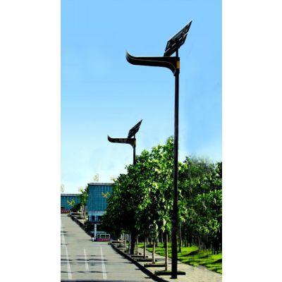 5米6米7米整体热镀路灯灯杆可配太阳能支架