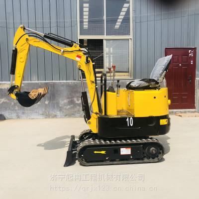 厂家直销1吨履带式小型挖掘机 农用机械 挖土开沟种树回填多功能小型挖掘机