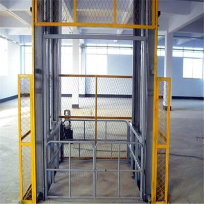 液压升降机 安庆市安装一台电动导轨式液压升降机价格