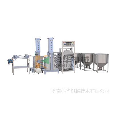 江西九江、赣州仿手工豆腐皮机多少钱一套,自动豆腐皮机械设备,豆腐皮自动挂杆摊凉机,厂家直销