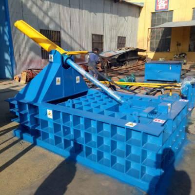废钢铁打包机 废钢屑压块机 易拉罐铁屑打包成型机 金属压块机